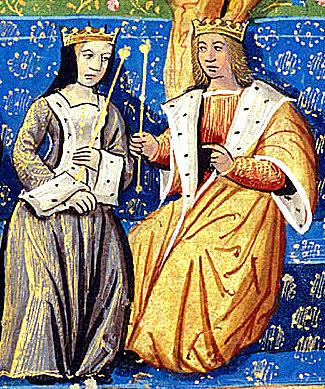 Enrique Tudor y su Esposa Isabel