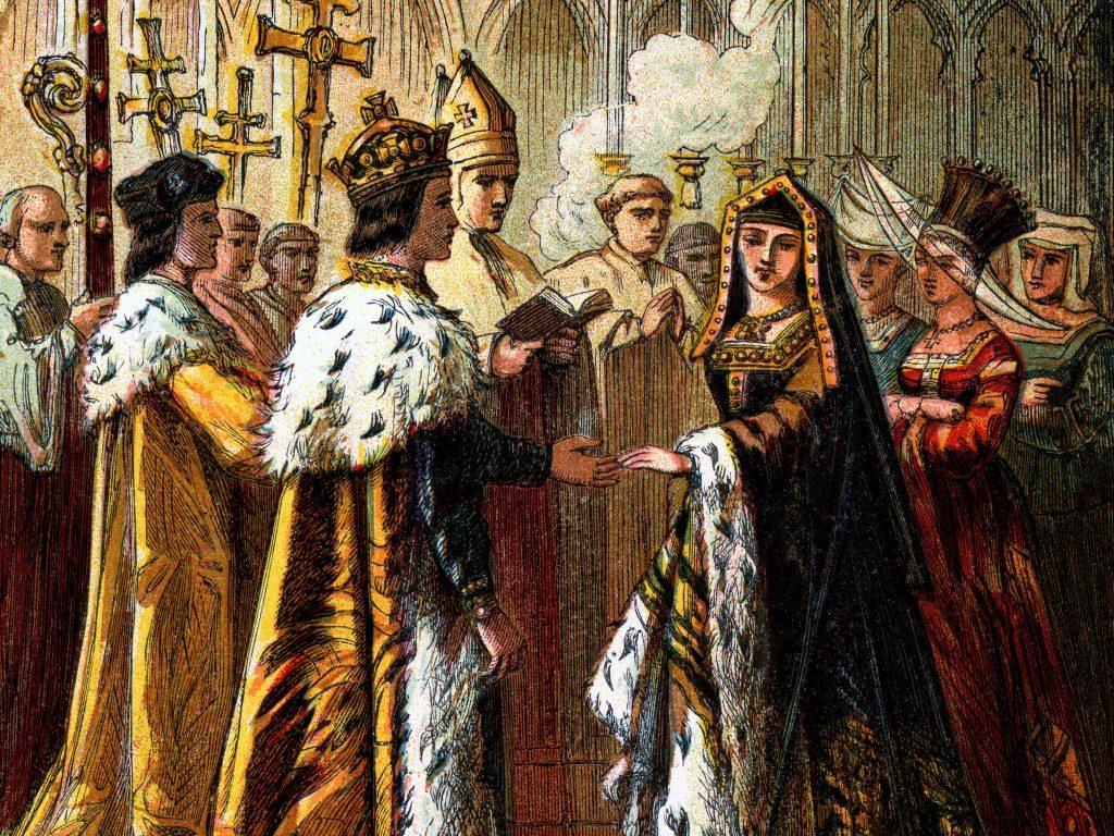 La Boda de Isabel de York y Enrique Tudor