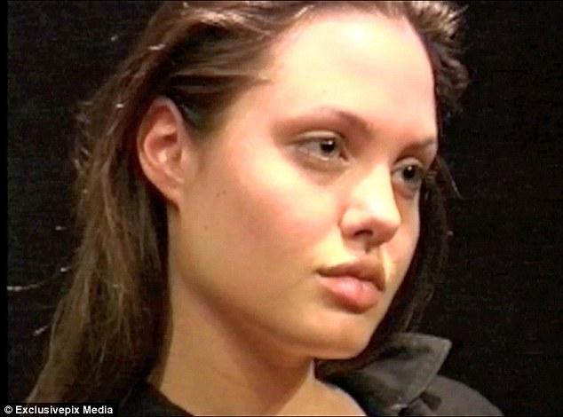 Angelina Jolie cuando era Joven