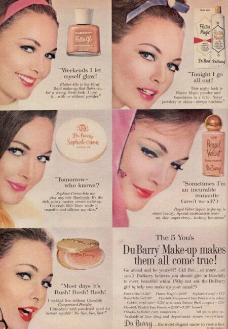 Maquillaje del siglo Pasado