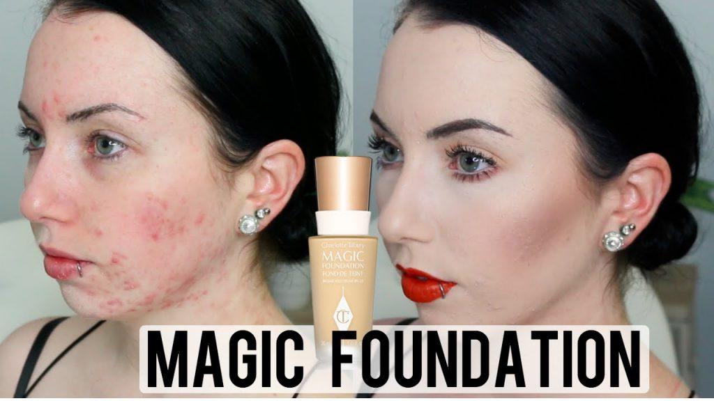 Base de Maquillaje para Cubrir Acné y Rojeces