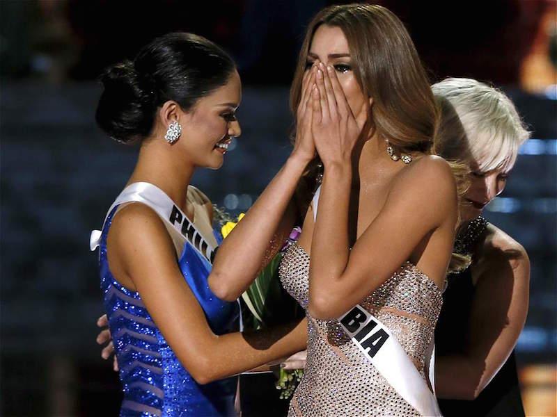 La Desastrosa Coronación de Miss Universo 2015