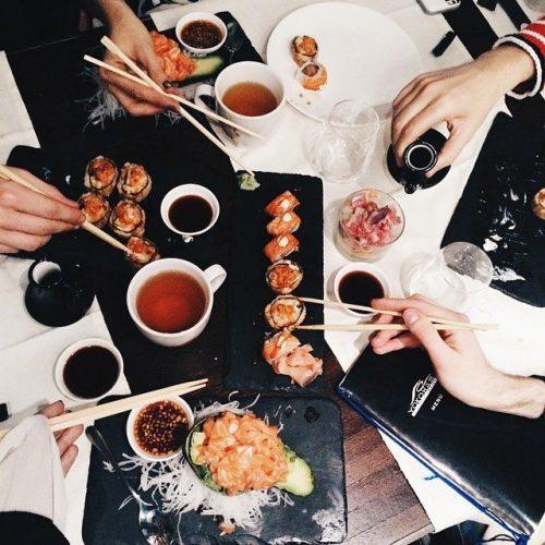 Los Beneficios del Sushi