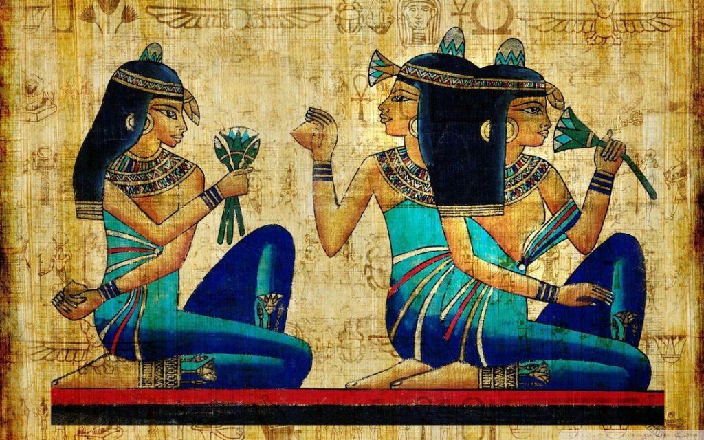 Así se Maquillaban las Mujeres Egipcias