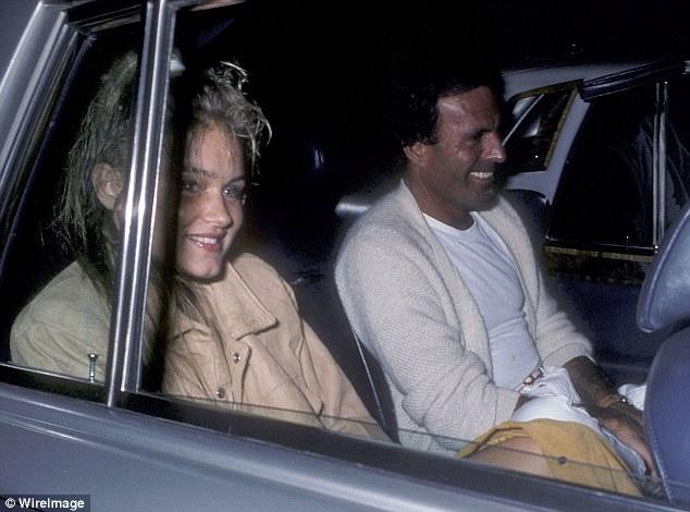 Yolanda Hadid y Julio Iglesias