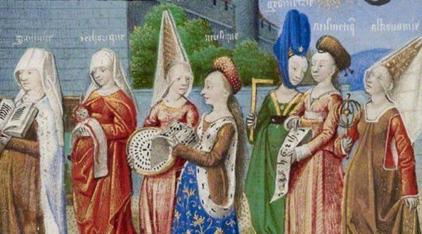 El Estilo de la Mujer en la Edad Media