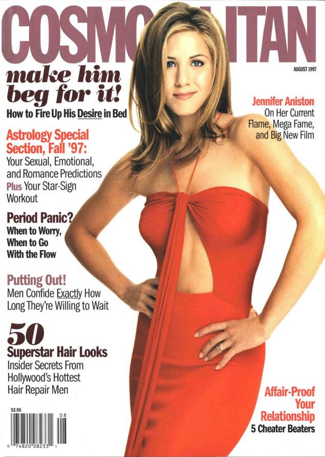 Jennifer Aniston Cosmopolitan