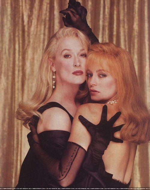 """Meryl Streep y Goldie Hawn en """"La Muerte Os Sienta Tan Bien"""""""