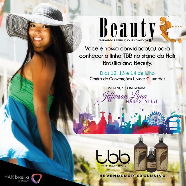 Convite Hair Brasil - TBB