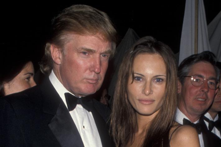Melania Trump Antes