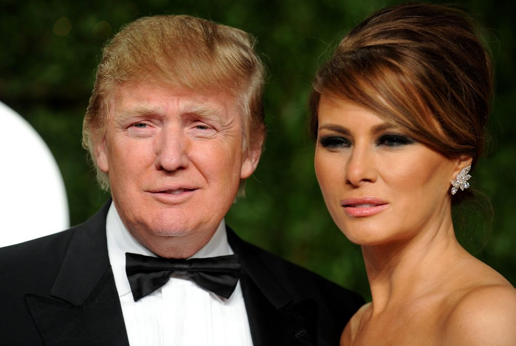 Melania Trump Pómulos