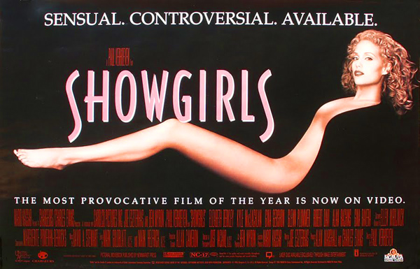 Elizabeth Berkley en Showgirls