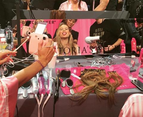 Victoria's Secret todos los Peinados