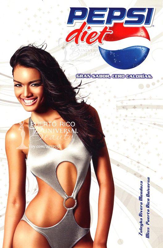 Zuleyka Rivera Pepsi Diet