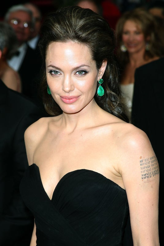 Angelina Jolie Esmeraldas