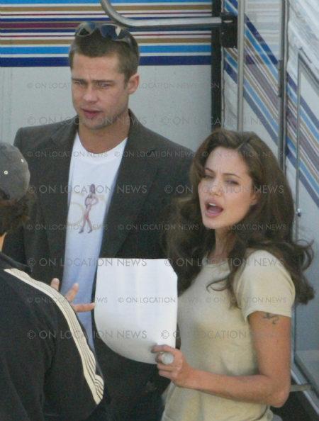 Primera foto de Brad y Angelina