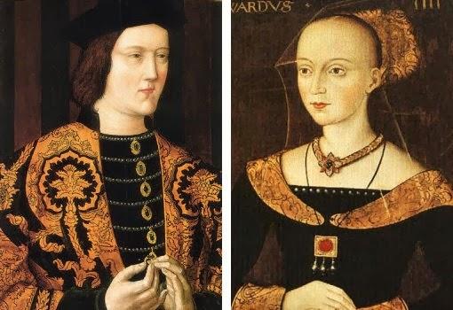 Isabel Woodville y Eduardo IV