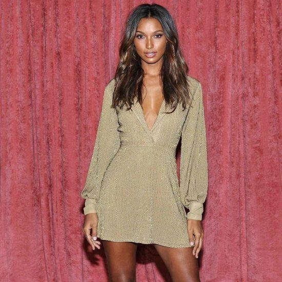Jasmine Tookes para Victoria's Secret