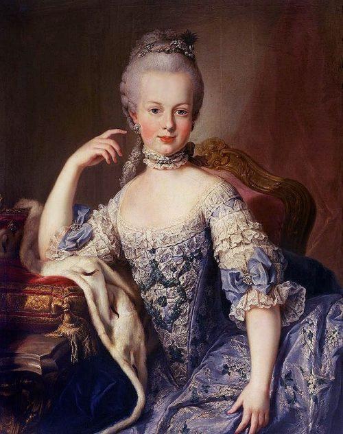 La historia de Maria Antonieta