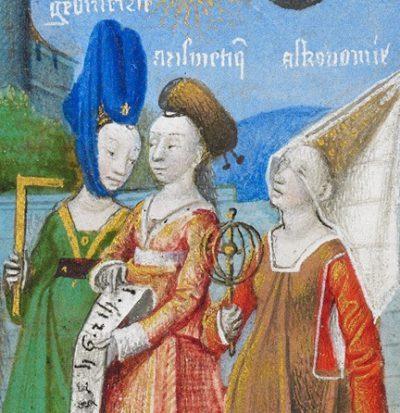 Así Vestían las Mujeres Medievales