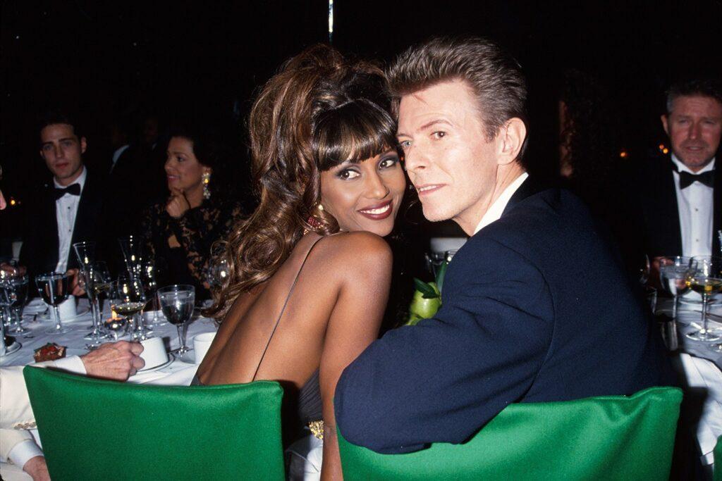 Iman y David Bowie
