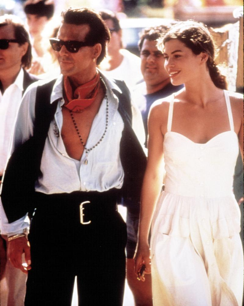 Mickey Rourke y Carre Otis