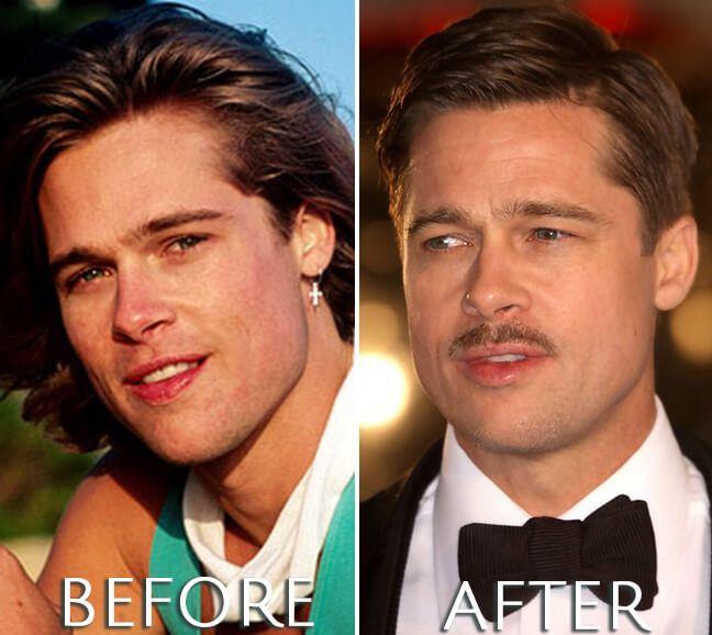 Brad Pitt Antes Despues