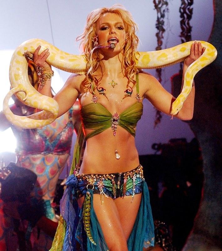 Los Abdominales de Britney Spears