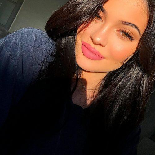 Kylie Jenner Ácido Hialurónico en los Labios