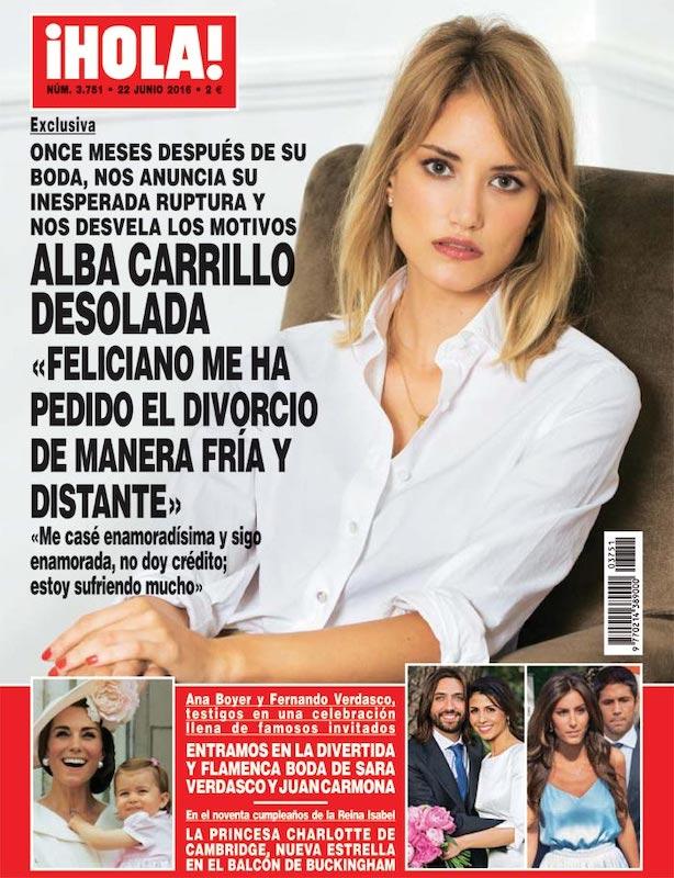 Alba Carrillo Feliciano López