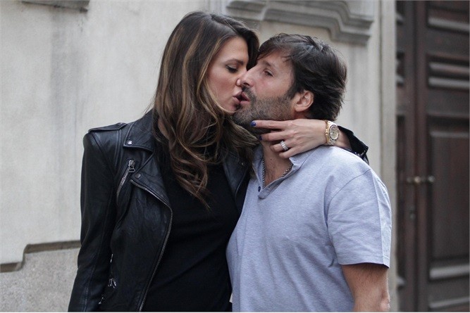 Claudia Galanti ex Marito