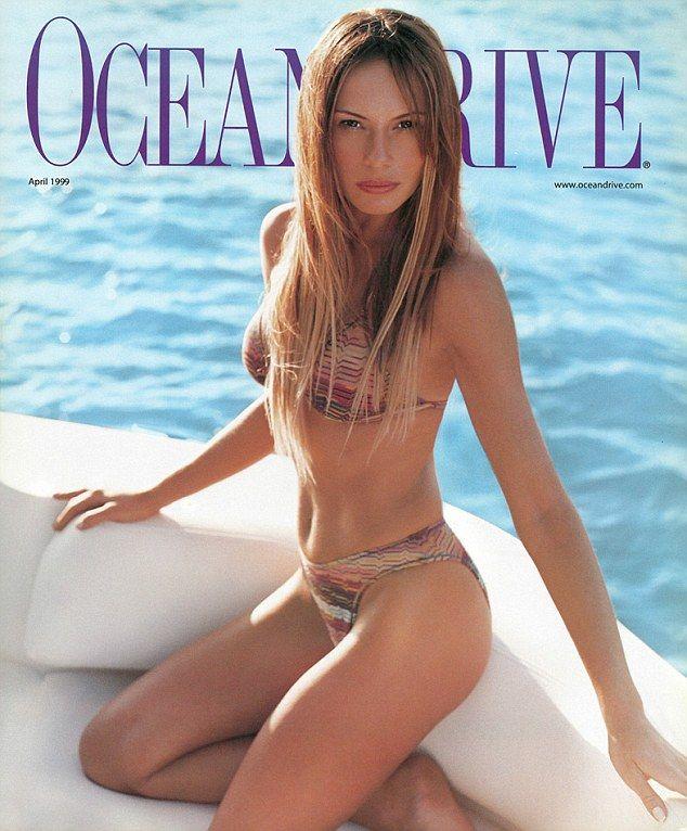 Melania Trump Modelo