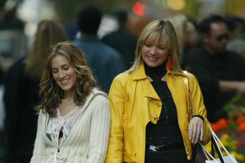 Carrie y Samantha Sexo en Nueva York