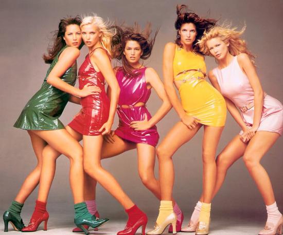 Las supermodelos de los 90