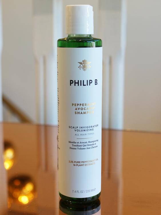 Champú de Menta de Philip B, uno de mis Favoritos