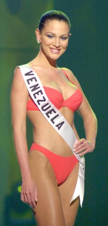 Eva Ekvall en Miss Universo