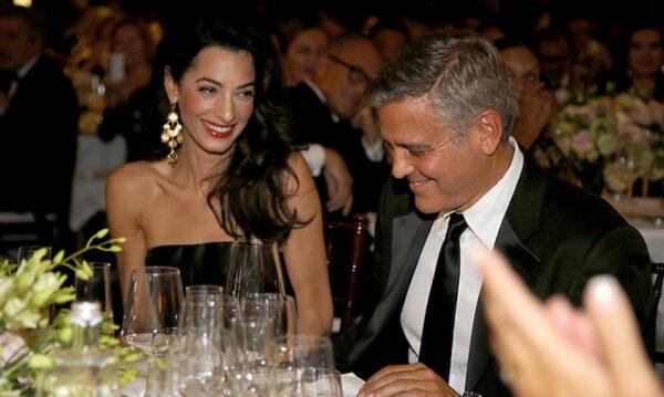 Amal Clooney y George