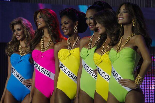 Candidatas a Miss Venezuela