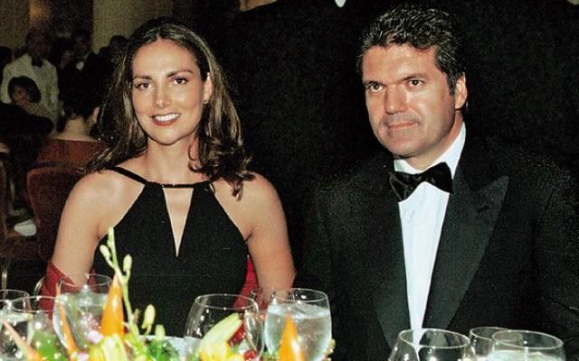 Adriana Abascal y Juan Villalonga