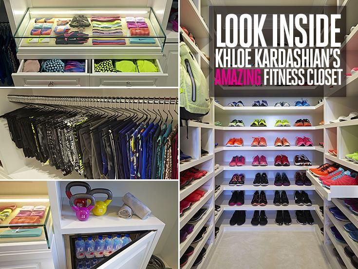El Vestidor Fitness de Khloe Kardashian