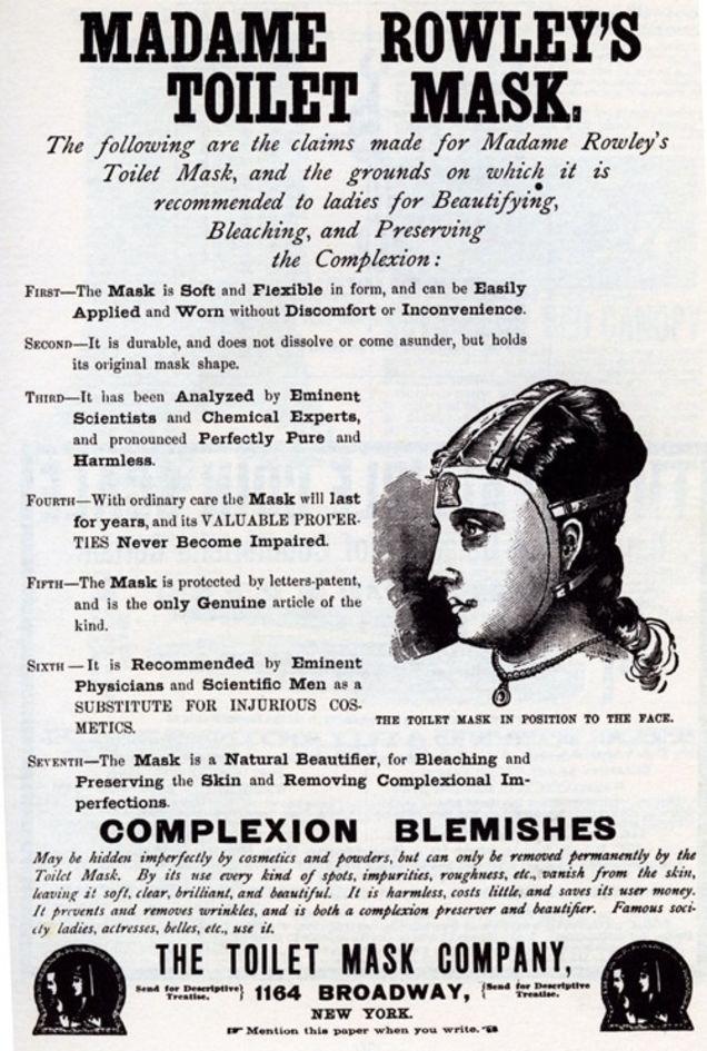 Madame Rowley Mask