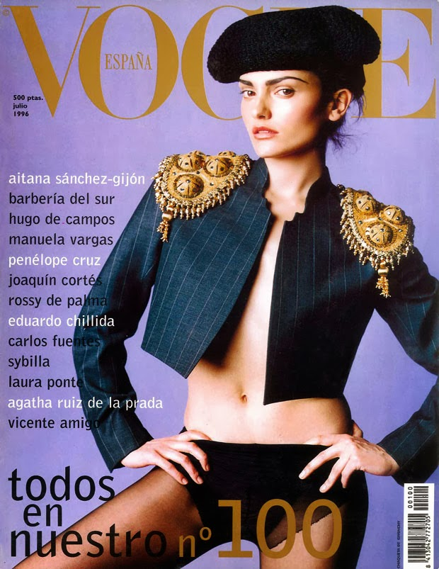 Laura Ponte en la Portada de Vogue