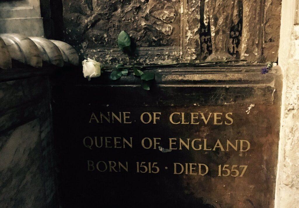Ana de Cleves Reina
