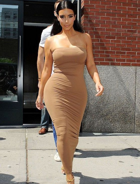 Kim Kardashian Fatal Dress