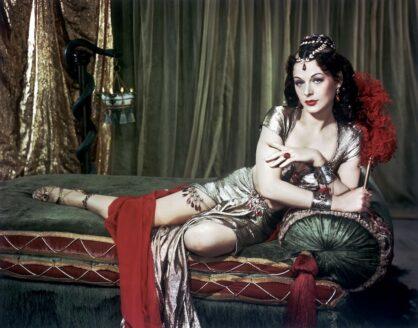 La Languidez Sensual de Hedy Lamarr en Sansón y Dalila