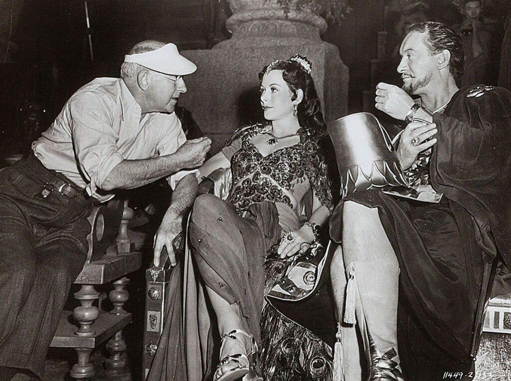 Hedy Lamarr y George Sanders